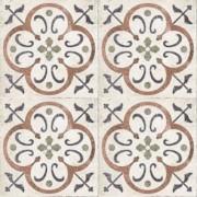 Adesivo para Azulejo Ladrilho Hidráulico Cadiz Vinil 15x15cm 16 peças Cosi Dimora