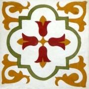 Adesivo para Azulejo Ladrilho Hidráulico Tenerife Vinil 15x15cm 16 peças Cosi Dimora