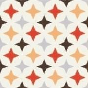 Adesivo para Azulejo Moderno Estrelas 15x15cm 16 peças Cosi Dimora