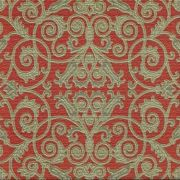Adesivo para Azulejo Patchwork Vermelho e Dourado Vinil 15x15cm 16 peças Cosi Dimora