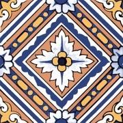 Adesivo para Azulejo Português Bragança 15x15cm 16 peças Cosi Dimora