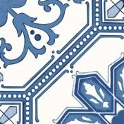Adesivo para Azulejo Português Coimbra 15x15cm 16 peças Cosi Dimora