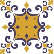 Adesivo para Azulejo Português Douro 15x15cm 16 peças Cosi Dimora
