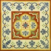 Adesivo para Azulejo Português Faro 15x15cm 16 peças Cosi Dimora