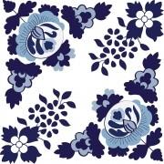 Adesivo para Azulejo Português Lisboa 15x15cm 16 peças Cosi Dimora