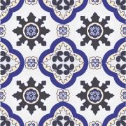 Adesivo para Azulejo Português Trofa 15x15cm 16 peças Cosi Dimora