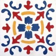 Adesivo para Azulejo Português Valbom 15x15cm 16 peças Cosi Dimora