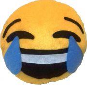 Almofada Emoticon Chorando de Rir Handmade Sensuelle