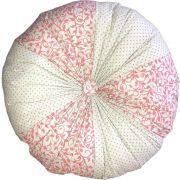 Almofada Fuxicão Rose 40cm Cosi Dimora