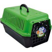 Caixa Transporte Cães E Gatos N 01 Verde Pet Un/1