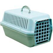 Caixa Transporte Cães E Gatos N 03 Azul Pet Un/1