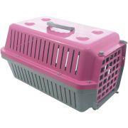 Caixa Transporte Cães E Gatos N 03 Rosa Pet Un/1