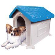 Casa Plástica Desmontável P/Cães N2 Azul Pet Injet Un/1