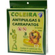Coleira Anti-Pulga/Carrapato P Caes Dugs World Un/1