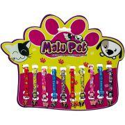 Coleira Elástica P/Gatos C/Pingente Borboleta Pet Conjunto com 10 peças