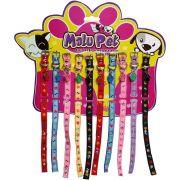 Coleira Nylon Bichinhos P/Cães N 1 Pet conjunto com 10 peças