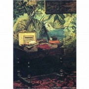 Pôster Decorativo A4 A Corner of the Studio - Claude Monet Cosi Dimora