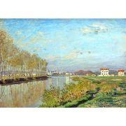 Pôster Decorativo A4 Argenteuil the Seine - Claude Monet Cosi Dimora