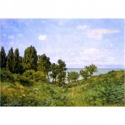 Pôster Decorativo A4 By the Sea - Claude Monet Cosi Dimora