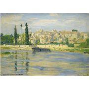 Pôster Decorativo A4 Carrieres Saint Denis 1872 - Claude Monet Cosi Dimora