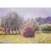 Pôster Decorativo A4 Haystack - Claude Monet Cosi Dimora