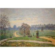 Pôster Decorativo A4 Hyde Park - Claude Monet Cosi Dimora