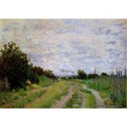 Pôster Decorativo A4 Lane in the Vineyards at Argenteuil - Claude Monet Cosi Dimora