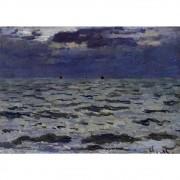 Pôster Decorativo A4 Seascape 1 - Claude Monet Cosi Dimora
