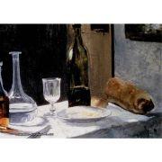 Pôster Decorativo A4 Still Life With Bottles 1863 - Claude Monet Cosi Dimora