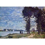 Pôster Decorativo A4 The Banks of the Seine at Argenteuil - Claude Monet Cosi Dimora
