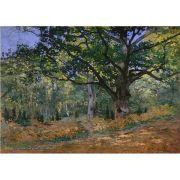 Pôster Decorativo A4 The Bodmer Oak Fontainebleau - Claude Monet Cosi Dimora