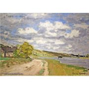 Pôster Decorativo A4 The Estuary of the Siene - Claude Monet Cosi Dimora