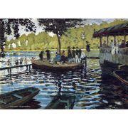 Pôster Decorativo A4 The Grenouillère - Claude Monet Cosi Dimora