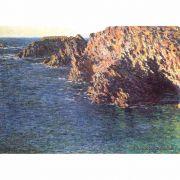 Pôster Decorativo A4 The Grotto of Port Domois - Claude Monet Cosi Dimora