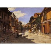 Pôster Decorativo A4 The La Rue Bavolle at Honfleur 2 - Claude Monet Cosi Dimora