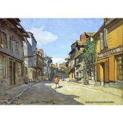 Pôster Decorativo A4 The La Rue Bavolle at Honfleur - Claude Monet Cosi Dimora