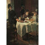 Pôster Decorativo A4 The Luncheon - Claude Monet Cosi Dimora