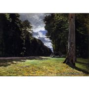 Pôster Decorativo A4 The Pave de Chailly in the Fontainbleau Forest - Claude Monet Cosi Dimora