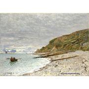 Pôster Decorativo A4 The Pointe of Heve 1864 - Claude Monet Cosi Dimora