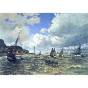 Quadro Decorativo A4 The Seine Estuary at Honfluer - Claude Monet Cosi Dimora