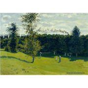 Quadro Decorativo A4 The Train in the Country - Claude Monet Cosi Dimora