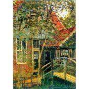 Pôster Decorativo A4 Zaandam Little Bridge - Claude Monet Cosi Dimora