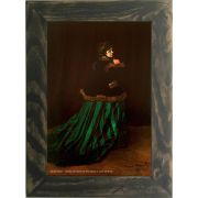 Quadro Decorativo A4 Camille Also Known as the Woman in a Green Dress - Claude Monet Cosi Dimora