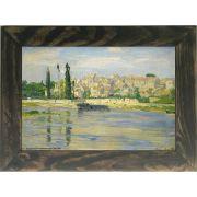 Quadro Decorativo A4 Carrieres Saint Denis 1872 - Claude Monet Cosi Dimora