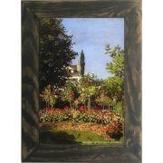 Quadro Decorativo A4 Garden in Bloom at Sainte Addresse - Claude Monet Cosi Dimora
