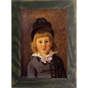 Quadro Decorativo A4 Portrait of Jean Monet Wearing a Hat With a Pompom - Claude Monet Cosi Dimora