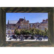 Quadro Decorativo A4 Saint Germain l Auxerrois - Claude Monet Cosi Dimora