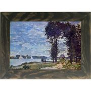 Quadro Decorativo A4 The Banks of the Seine at Argenteuil - Claude Monet Cosi Dimora