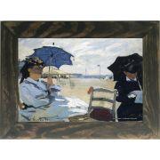 Quadro Decorativo A4 The Beach at Trouville - Claude Monet Cosi Dimora