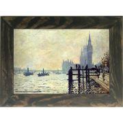 Quadro Decorativo A4 The Thames Below Westminster 1871 - Claude Monet Cosi Dimora